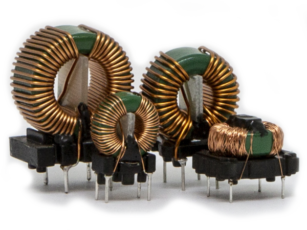 Toroidal common mode inductors