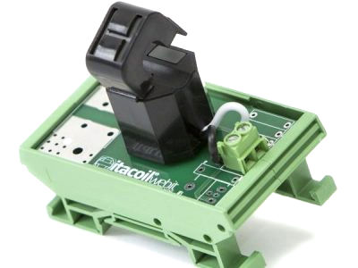 Measurement transformer DIN rail